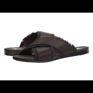 6f7cb76c4 NIB Lust for Life Black slide on Sandals